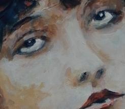 Clara Bow I Detail