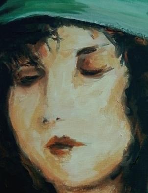 Clara Bow II - Detail