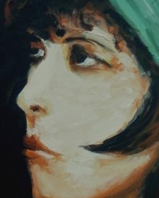 Clara Bow III -detail