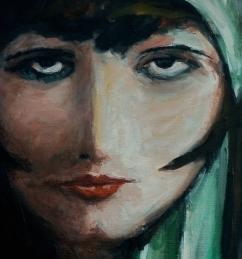Clara Bow IV - Detail