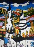 """Demons in Devon on canvas 24"""" x 32"""" £450"""