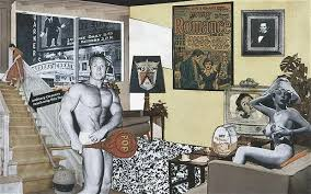 24th February. Richard Hamilton the father of Pop Art was born on this day in 1922.
