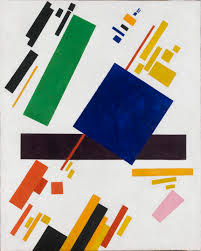 23rd February. Malevich a pioneer of geometric abstract art and the originator of the avant-garde Suprematist movement was born on this day in 1879.