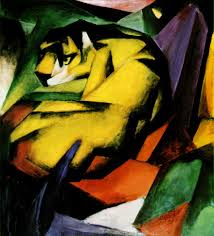 8th February. Franz Marc one of the key figures of the German Expressionist movement was born on this day 1880.