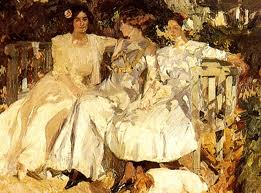27th February. Joaquín Sorolla king of the Spanish Sun was born on this day in 1863.