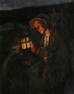 STudy for Lighting up time by Forbes 1902