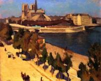 the-apse-of-notre-dame-1901 Albert Marquet