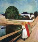 the-girls-on-the-bridge-1901. Munch