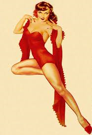 9th February. Alberto Vargas born this day in 1896, a Peruvian painter of pin-up girls.