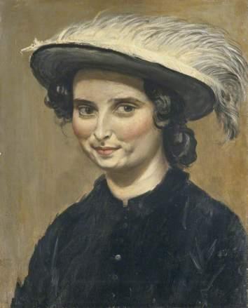 John, Augustus Edwin; Dorelia McNeill (1881-1969), in a Feathered Hat; Amgueddfa Cymru - National Museum Wales; http://www.artuk.org/artworks/dorelia-mcneill-18811969-in-a-feathered-hat-160571