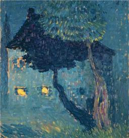 cottage-in-the-woods-1903 Alexej von Jawlensky