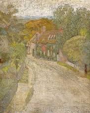 Grant, Duncan, 1885-1978; Village Street