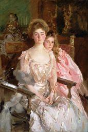 John_Singer_Sargent_-_Mrs._Fiske_Warren_(Gretchen_Osgood)_and_Her_Daughter_Rachel 1903