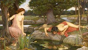 John_William_Waterhouse_-_Echo_and_Narcissus 1903