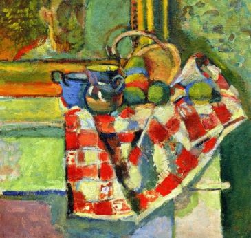 Matisse Still Life with Checked Tablecloth 18903