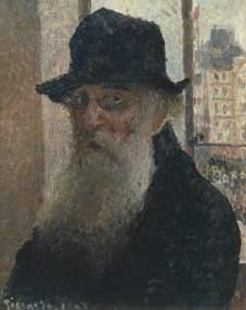 Pissarro, Camille, 1830-1903; Self-Portrait (Portrait de Camille Pissarro par lui-meme)