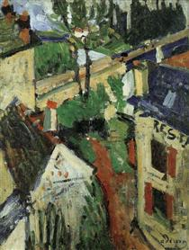 Andre Derain - Bakers House 1904
