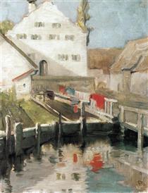 Franz Marc Artists mother 1904