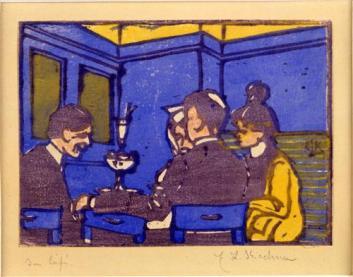 Kirchner the-café 1904