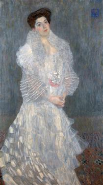 Klimt Portrait of Hermine Gallia 1904