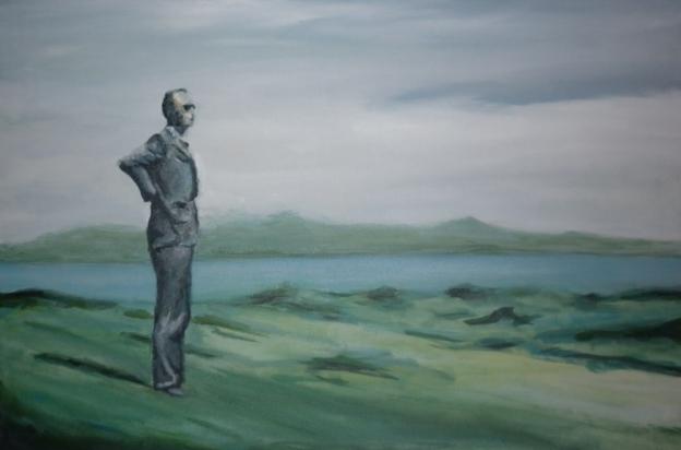 Larkin in the Landscape t