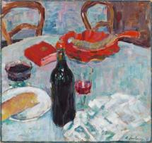 stilleben-mit-weinflasche-1904. Alexej von Jawlensky