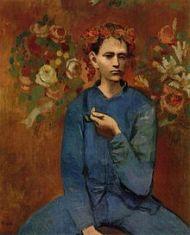 Picasso 1905-Garçon_à_la_pipe