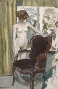 Bonnard, Pierre, 1867-1947; Interior with nude Figure