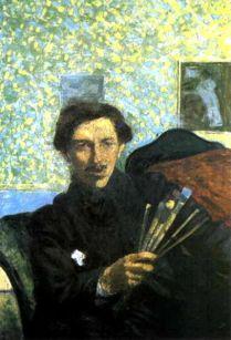 Umberto-Boccioni self portrait 1905