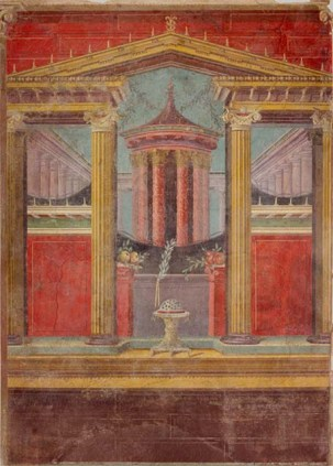 Working Title/Artist: Fresco wall painting in a cubiculum (bedroom) from the Villa of P. Fannius Synistor at Boscoreale Department: Greek & Roman Art Culture/Period/Location: HB/TOA Date Code: 04 Working Date: ca. 40-30 B.C. photography by mma, digital file DP146005.jpg retouched by someone else film and media (jnc) 4_24_07