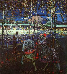 Couple Riding 1906 Kandinsky