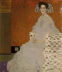 portrait-of-fritza-riedler 1906 Klimt