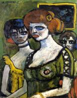 Auguste-Chabaud-Girls-in-Green 1907