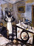 Chabaud Waitress, Bar Auguste, Bar 1907