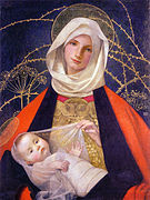 marianne_stokes_madonna_and_child-1908