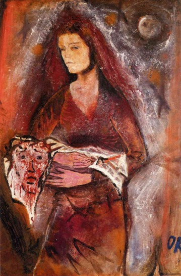 oscar-kokoshka-1909-veronicas-veil