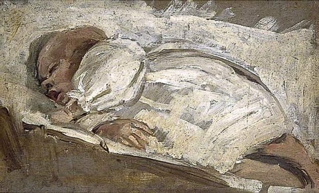 Bell, Vanessa, 1879-1961; Julian Asleep